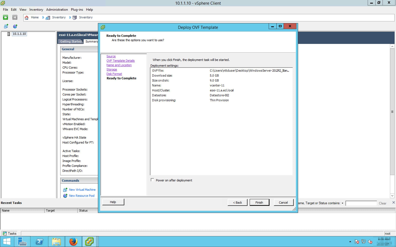 vSphere ESXi Configuration Guide : Enterprise Cloud Knowledge Center