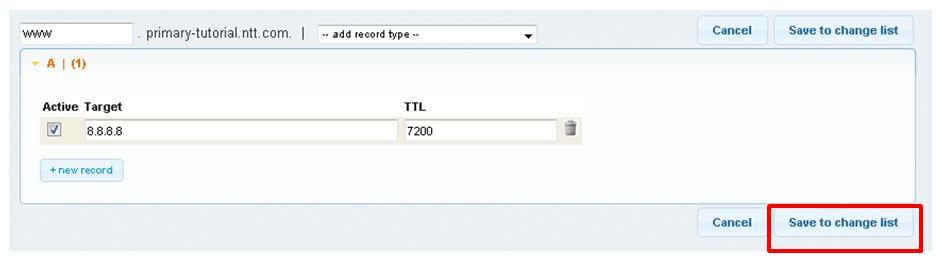 2 2 5  Add record : Enterprise Cloud Knowledge