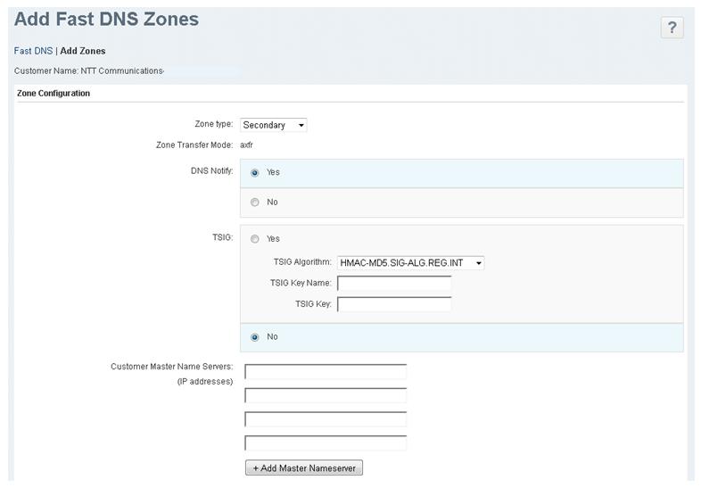 2 2 2  Add zone(Secondary) : Enterprise Cloud Knowledge