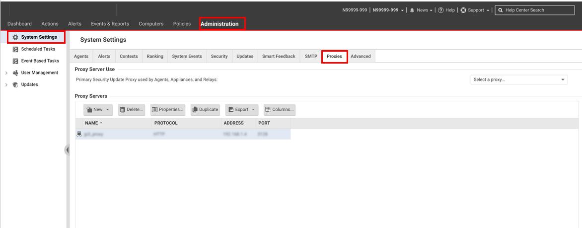 2 5 3  Insatalliing via a Proxy Server — Enterprise Cloud